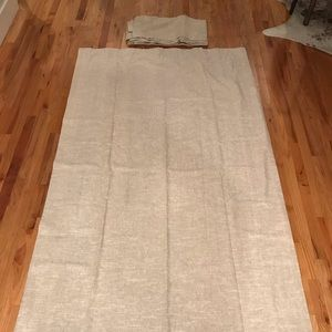 2 Lined Pottery Barn Emery Drapes/Curtains (50x96)